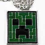 Creeper - Minecraft Necklace