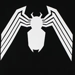 Venom Logo - Marvel Comics Sheer T-shirt