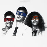 Masks - Workaholics T-shirt