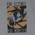 For Science - Portal 2 T-shirt
