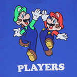 Players - Mario And Luigi - Nintendo T-shirt