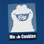 Me Like Cookies - Sesame Street T-shirt