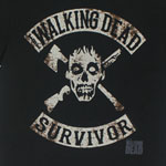 Walking Dead Survivor - Walking Dead T-shirt