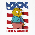 Pick A Winner - Simpsons T-shirt