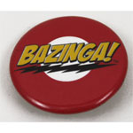 Bazinga! - Big Bang Theory Pin