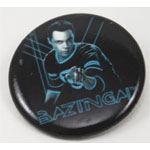 Sheldon Bazinga! - Big Bang Theory Pin
