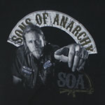 Jax Bike Banner - Sons Of Anarchy Sheer Women's T-shirt