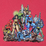 Heroic Group - DC Comics T-shirt