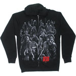 Walkers Attack - Walking Dead Zip Hooded Sweatshirt