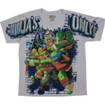 Ninjas Only - Teenage Mutant Ninja Turtles Youth T-shirt