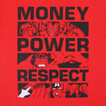 Money, Power, Respect - Marvel Comics T-shirt