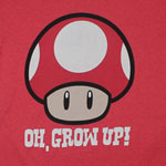 Oh, Grow Up! - Nintendo T-shirt