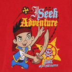 I Seek Adventure - Jake And The Neverland Pirates Toddler T-shirt