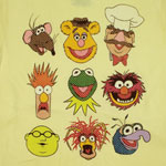 Vintage Faces - Muppets Sheer T-shirt