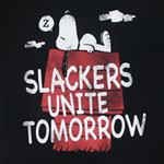 Slackers Unite Tomorrow - Peanuts Sheer T-shirt