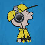 Charlie Brown Headphones - Peanuts T-shirt