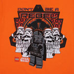 Don't Be A Rebel - LEGO Star Wars Youth T-shirt
