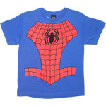 Spider-Man Costume - Marvel Comics Youth T-shirt