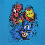 The Three Heroes - Marvel Comics Juvenile T-shirt