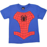 Spider-Man Costume - Marvel Comics Juvenile T-shirt