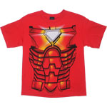Iron Man Costume - Marvel Comics Juvenile T-shirt