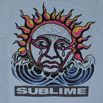 Crying Sun - Sublime Sheer T-shirt