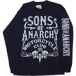 Bold Motor Club - Sons Of Anarchy Long Sleeve T-shirt