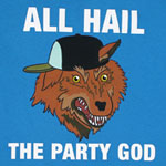 All Hail The Party God - Adventure Time T-shirt