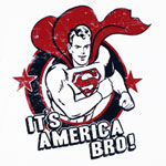 It's America Bro! - DC Comics T-shirt