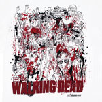 Sketch - Walking Dead T-shirt