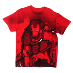 Stained Back - Iron Man 3 T-shirt