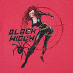 Black Widow - Marvel Comics Sheer T-shirt