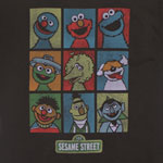 Nine Muppets - Sesame Street Sheer T-shirt