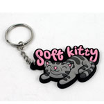 Soft Kitty - Big Bang Theory Keychain