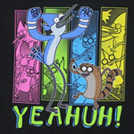 Four Panels - Regular Show Boys T-shirt