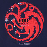 Fire And Blood - Game Of Thrones T-shirt