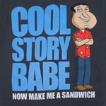 Make Me A Sandwich - Family Guy T-shirt