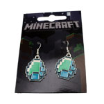 Diamonds - Minecraft Earrings