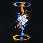 Gel Splatter - Portal 2 T-shirt
