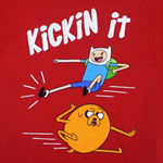 Kickin It - Adventure Time T-shirt