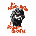 My Name Is Alan - Hangover Part III T-shirt