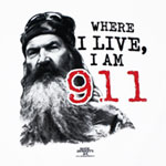 I Am 911 - Duck Dynasty T-shirt