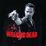 Rick And Pistol - Walking Dead Sheer T-shirt
