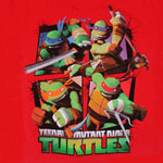 Four Panels - Teenage Mutant Ninja Turtles Juvenile And Youth T-shirt