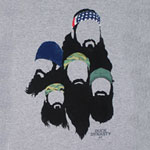 Beards Montage - Duck Dynasty T-shirt