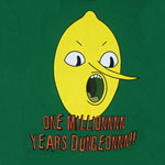 One Million Years Dungeon - Adventure Time Sheer T-shirt