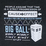 Wibbly Wobbly Timey Wimey Stuff - Dr. Who T-shirt