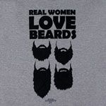 Beard Love - Duck Dynasty Juniors T-shirt