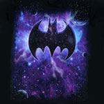 Batman Space Logo - DC Comics T-shirt