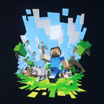 Adventure - Minecraft T-shirt